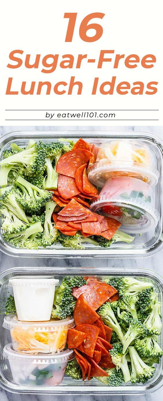 16 Sugar-Free Lunch Ideas to Pack Up for Work