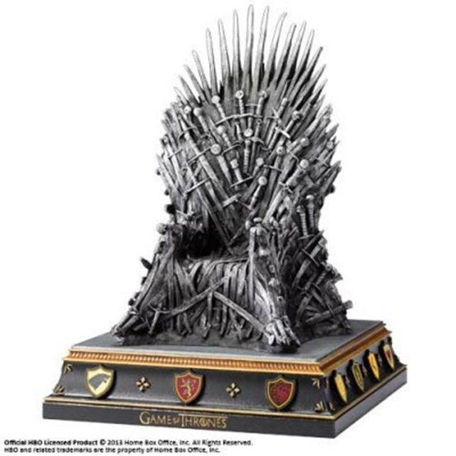 Game Of Thrones Serre Livre Le Trone 19 Cm Game Of