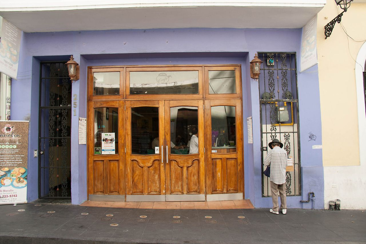 Cafe Manolin in San Juan, Puerto Rico. Awesome breakfast. #puerto rico #san juan #travel