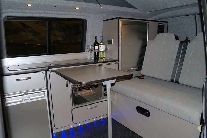 Camper interior vw trendline t5 camper conversion vw for Vw t4 interior designs