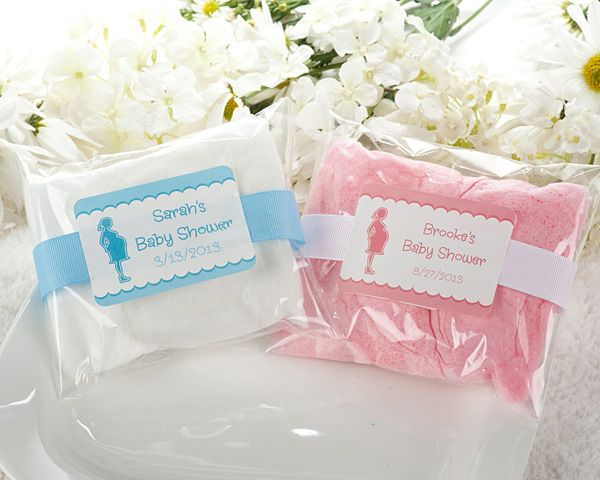 Baby Shower Personalized Cotton Candy Baby Shower Eats Sweets