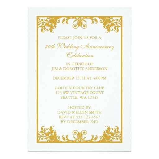 #weddinginvitation #weddinginvitations (50th Wedding Anniversary Gold Flourish Scroll Card) #40Th #50Th #50ThWeddingAnniversary #55Th #60Th #65Th #Anniversary #BenefitDance #Business #Celebrate #Celebration #Charity #Classy #Corporate #Dance #Elegant #Event #Fancy #Fiftieth #Flourish #Formal #Fundraiser #Gala #Gold #Golden #GoldenWeddingAnniversary #Homecoming #Marriage #Party #Popular #Scroll #Sophisticated #Vintage #Wedding #Years is available on Custom Unique Wedding Invitations store…