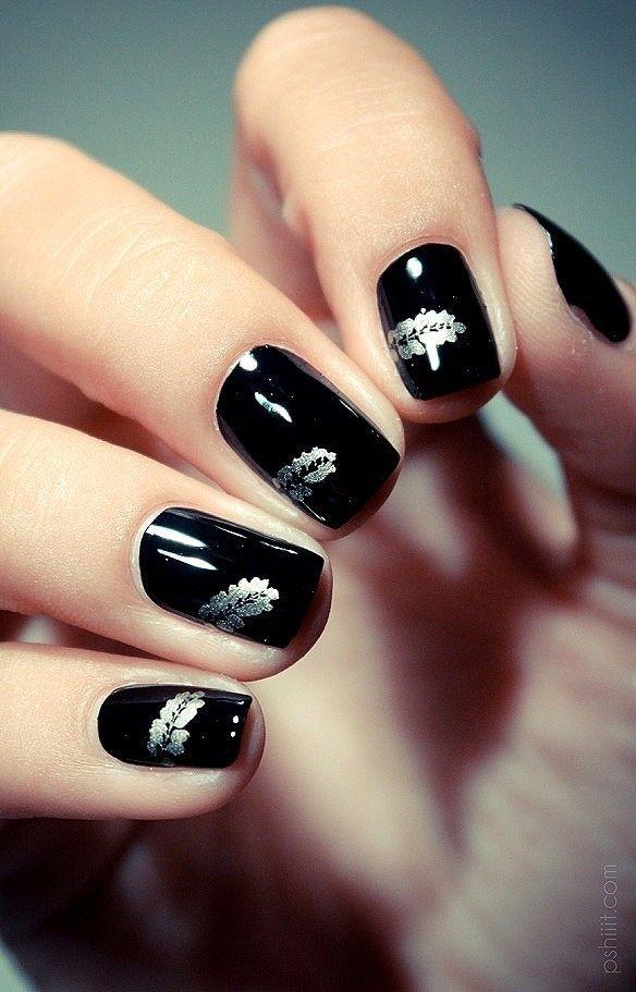new nail colors fall 2014   LADIES   Pinterest   Black nail art ...