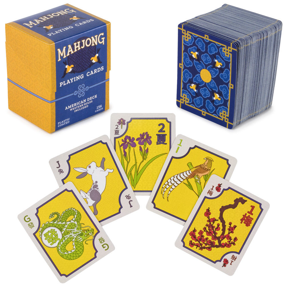 American Mahjong Playing Cards Tiles game, Deck of cards