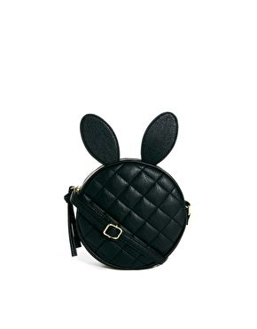 26a1b16274f ASOS Quilt Cross Body Bag With Rabbit Ears.