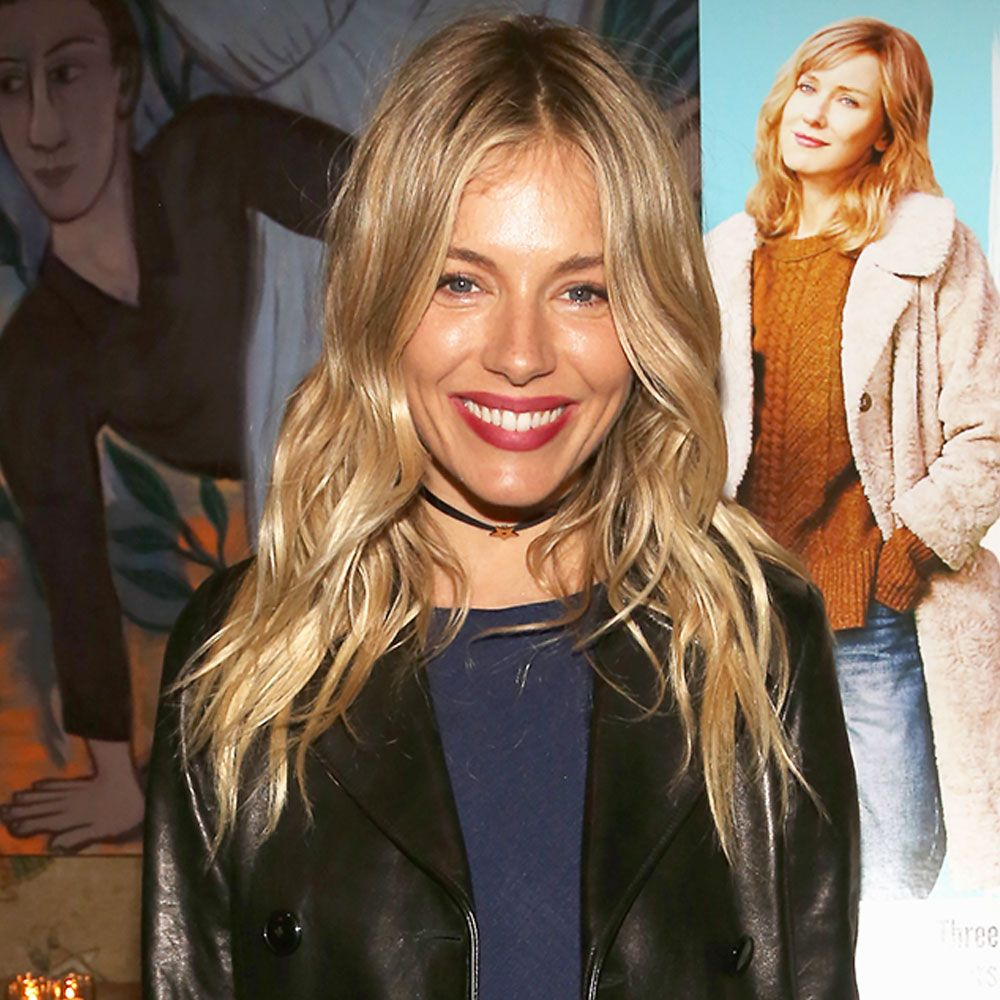 Sienna Miller Just Wore This It-Girl Leather Jacket Trend