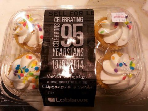 Special cupcakes for the 95th Anniversary