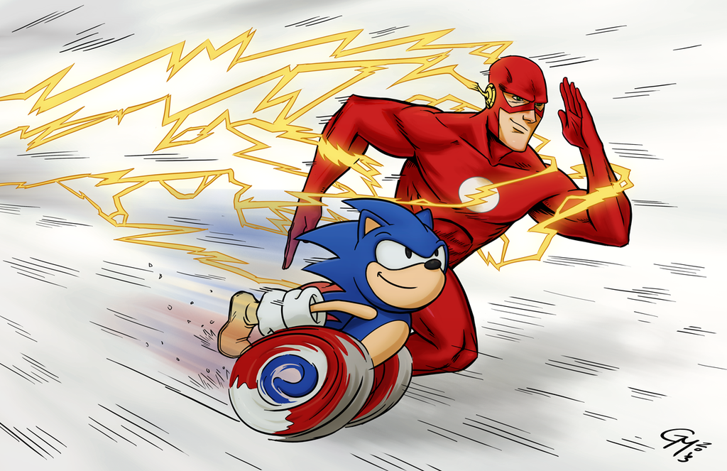 flash vs sonic - photo #40