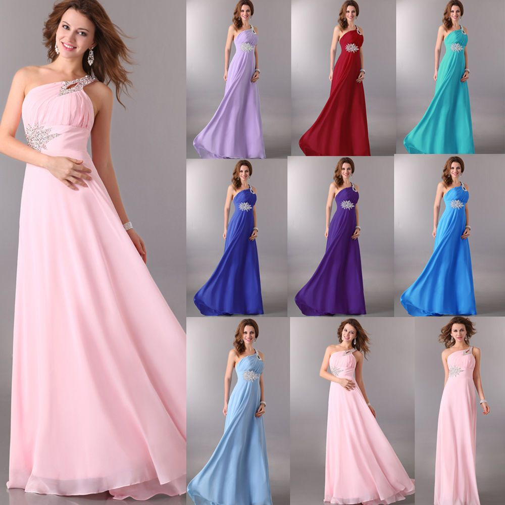 Dress for wedding evening party  Grace Karin Chiffon Long Maxi Formal Long Evening Party Prom