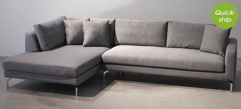 Sofa Stil stockholm 5215 lækker sofa i minimalistisk nordisk stil med