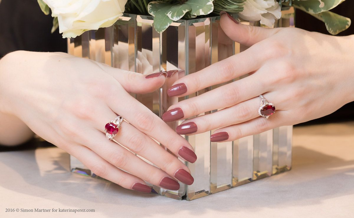 Fabergé Devotion collection rings with rubies | Maybe Someday ...