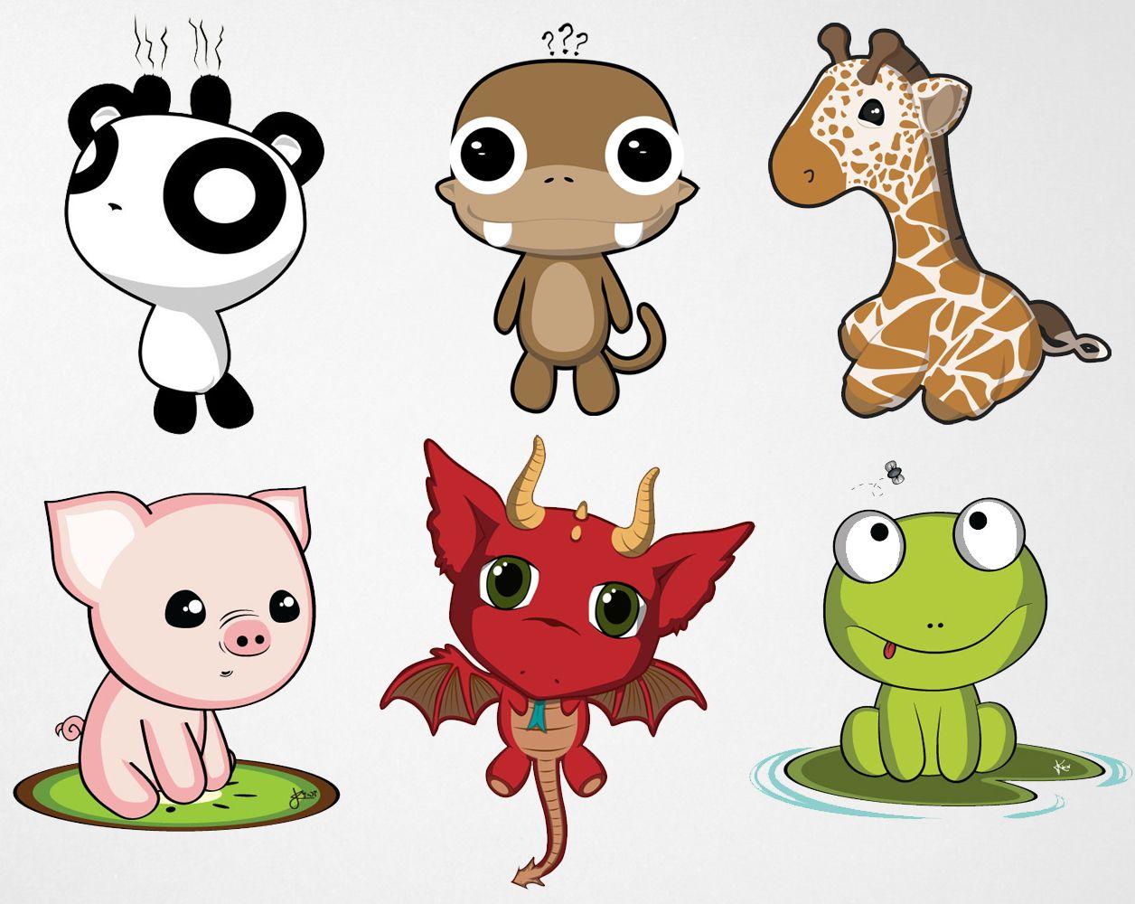 Cute Anime Animals DEAR RANDOM PEOPLE… Chibi, Anime