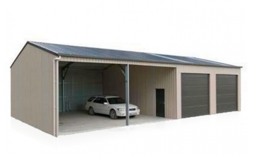 Double Rooler Doors Metal Car Garage Size 6 12 M Height 3 M Can Be Upgraded To 3 6m You Are Likely To Be Easily Fit Large Roller Doors Double Garage Doors