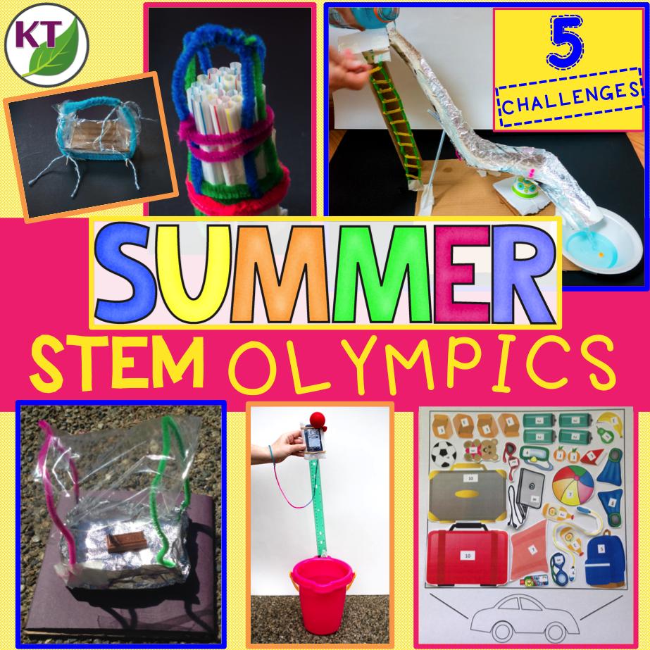 Summer Stem Challenge Olympics Summer Stem Stem Challenges Summer School Activities [ 923 x 923 Pixel ]