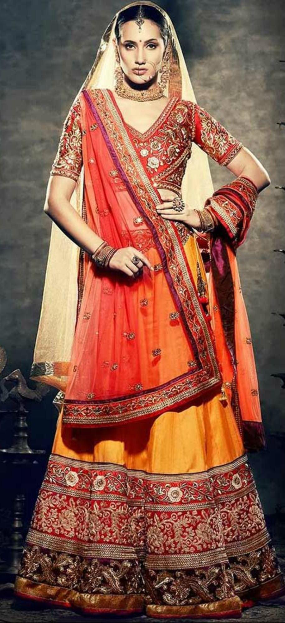 547a5e8db0 5 Best Stores To Get Bridal Lehenga On Rent In Delhi #bridal #wedding  #dresses