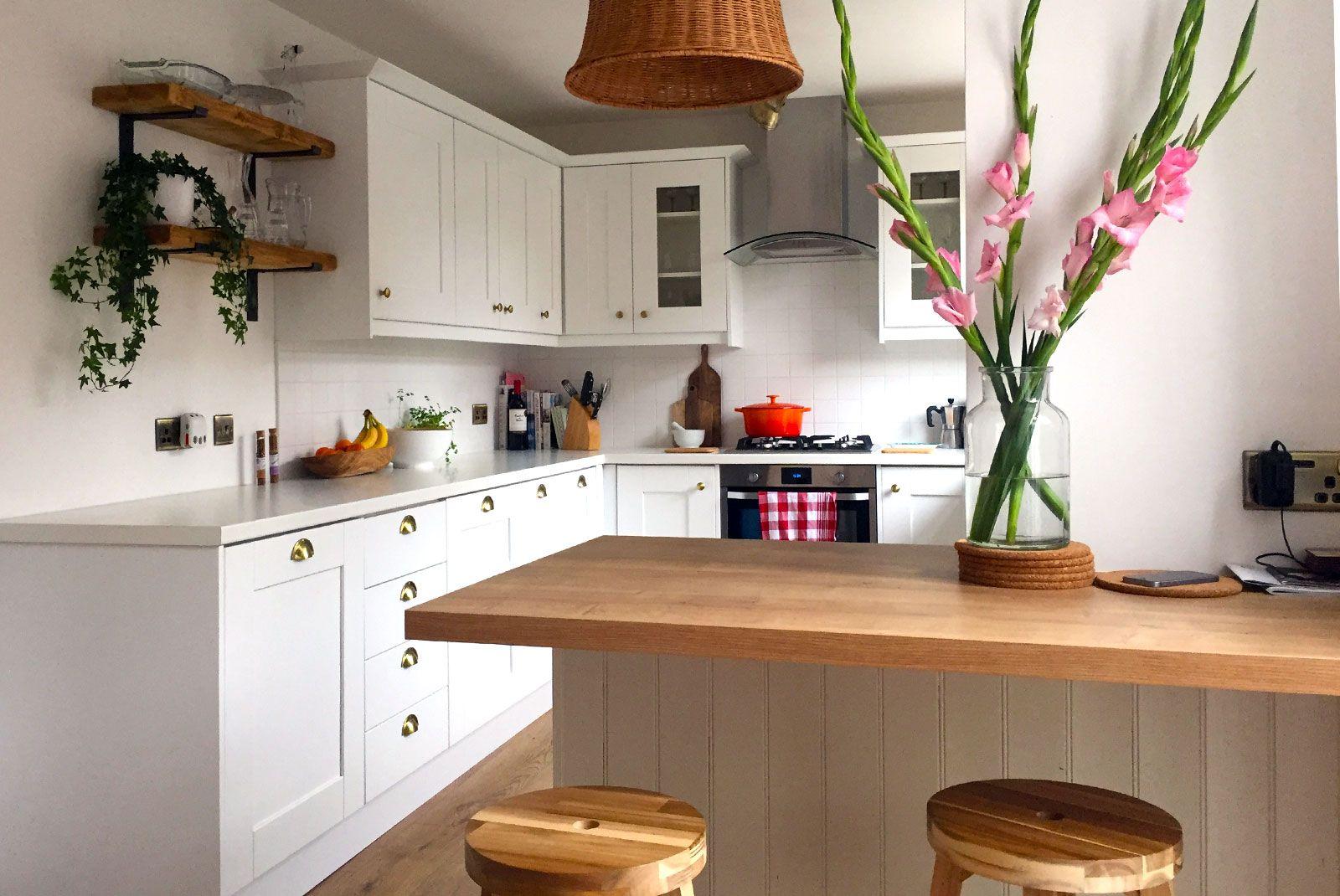 An Innova Clayton White Shaker Kitchen Real Kitchen Diy Kitchen