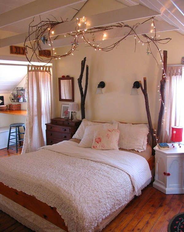 #Schlafzimmer 2018 Weihnachtsbeleuchtung Im Schlafzimmer #schlafzimmer # Luxus Schlafzimmer #Design #luxus