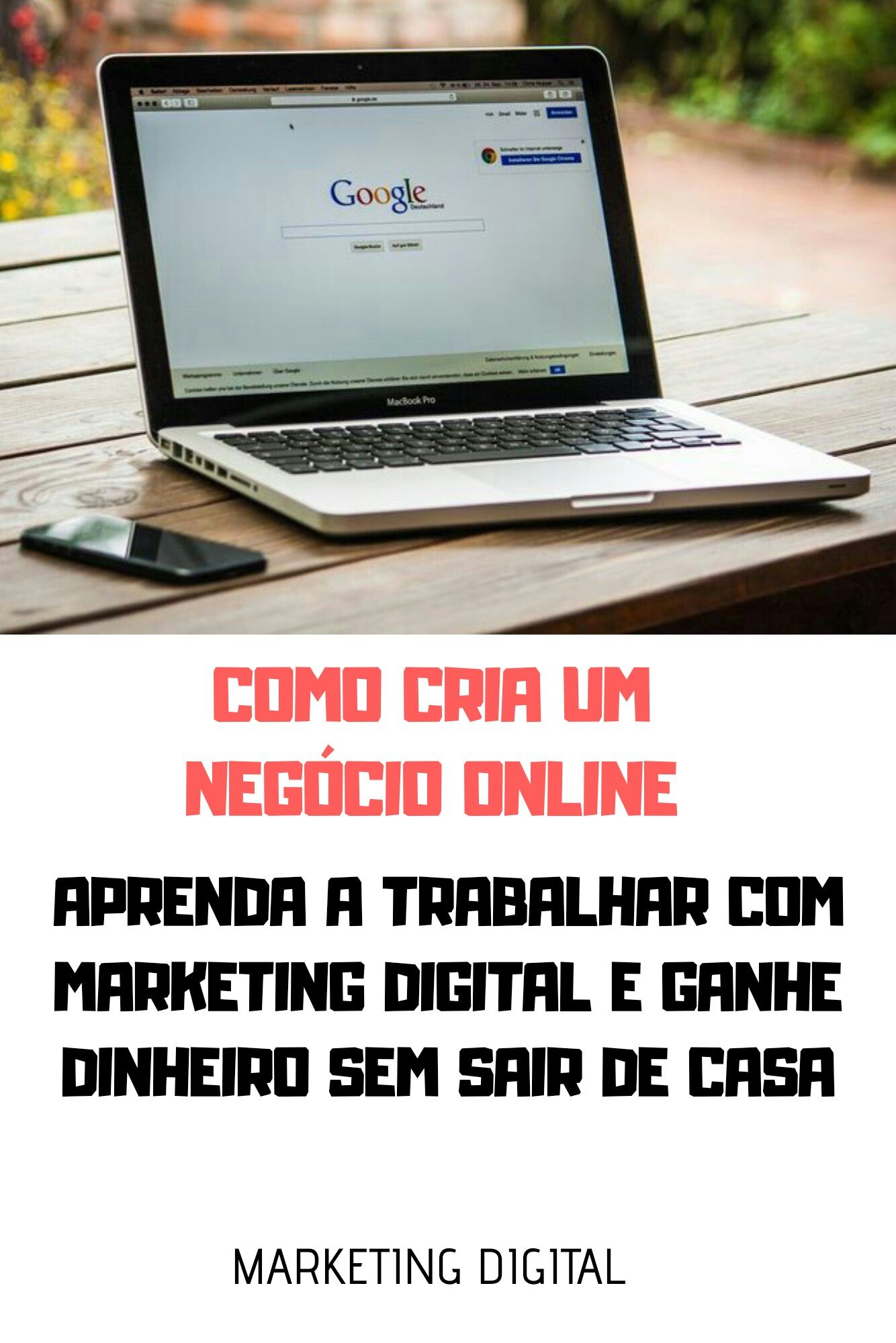 Pin Em Negocio Online