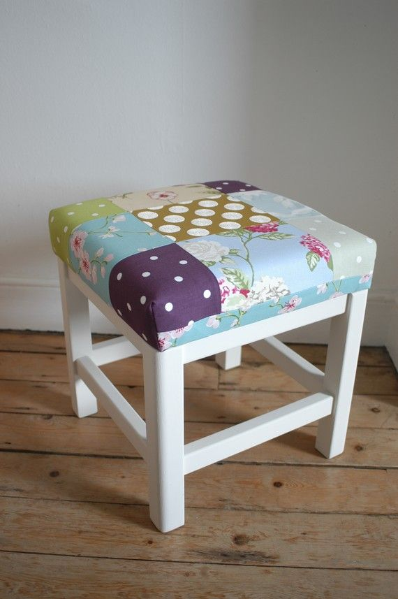 Patchwork stool x