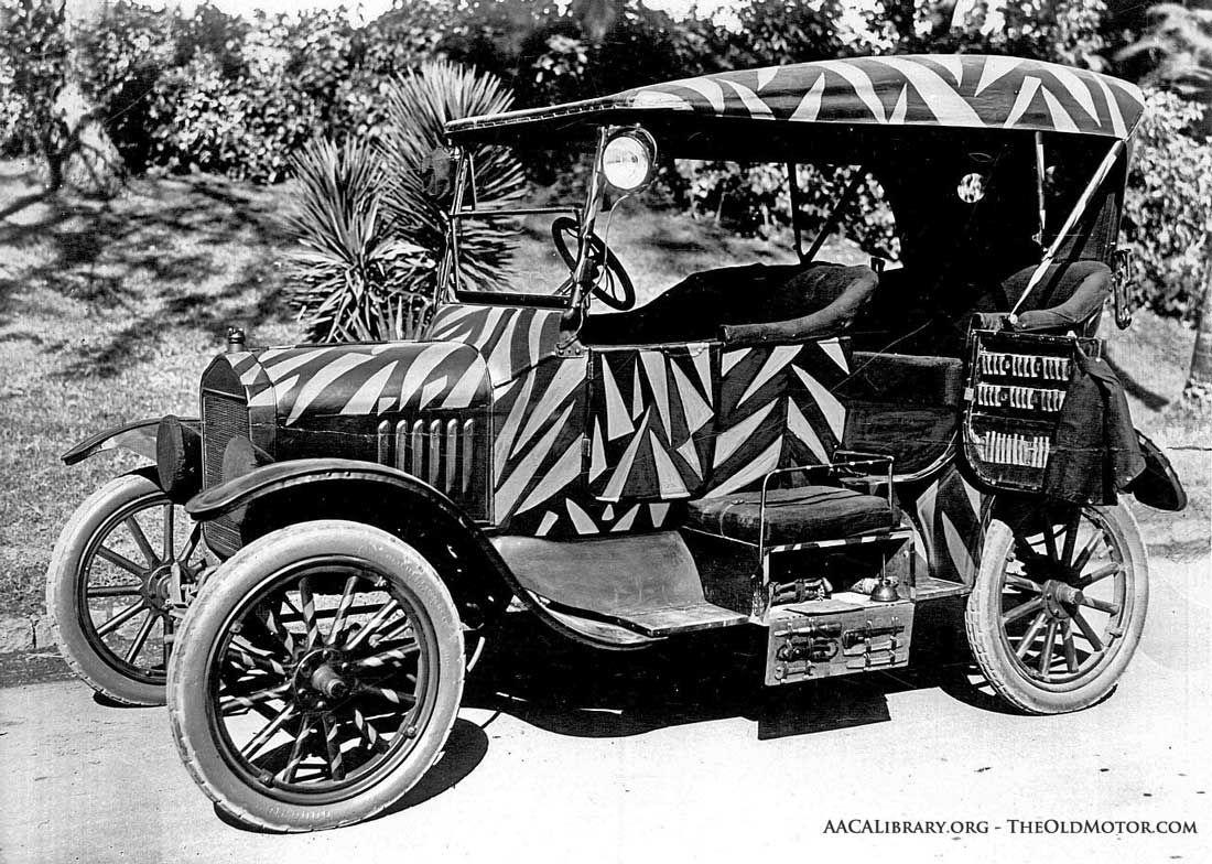 A Maharajah S Model T Ford Tiger Hunting Car Most Hunting Cars