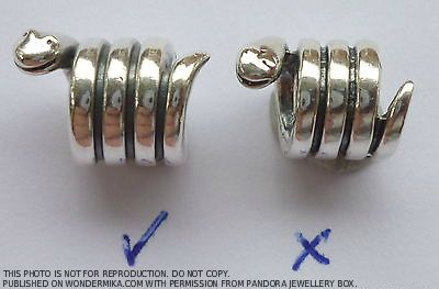 97da917bb how-to-spot-a-fake-pandora-bracelet-bead-snake | Pandora Charms ...
