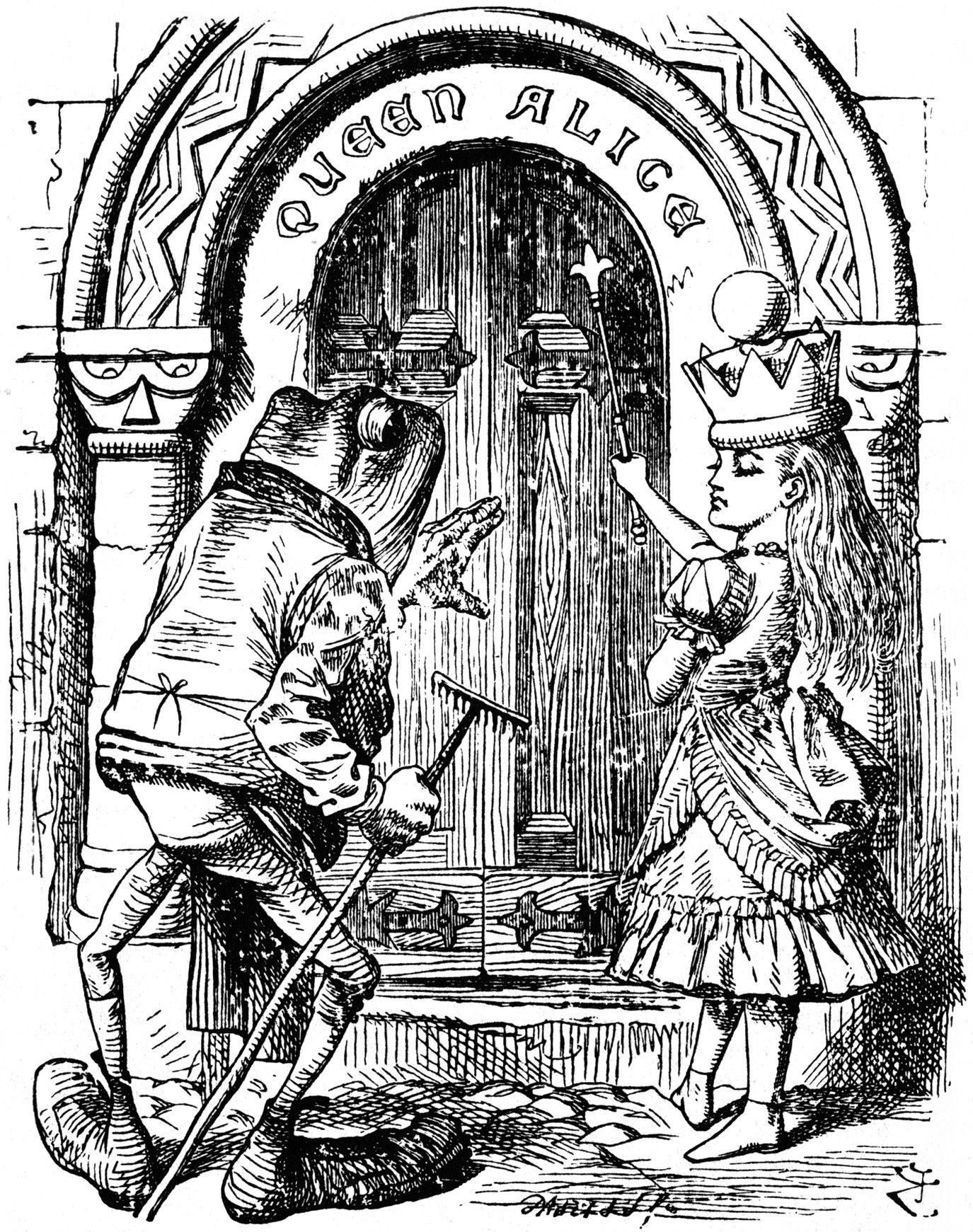 Tenniel alice pinterest john tenniel alice and frogs