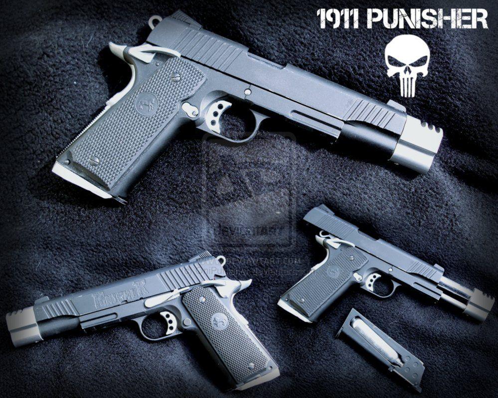 Colt 1911 Punisher Co2 by OniPunisher on DeviantArtLoading that ...