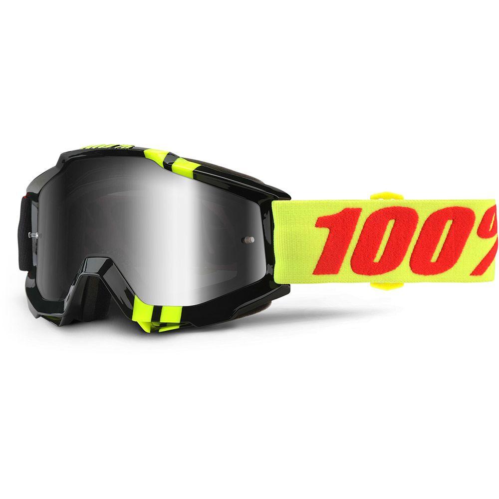 b346410a59e 100% Percent Accuri Zerbo Silver Tinted Goggles at MXstore