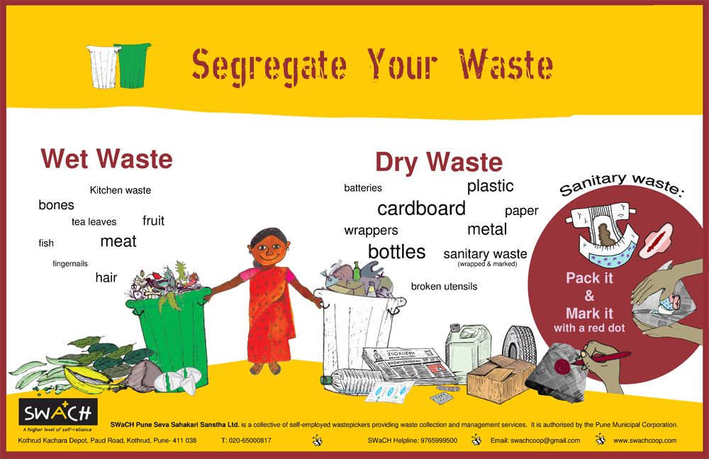 SWaCH (Solid Waste Collection and Handling or, officially, SWaCH Seva Sahakari Sanstha Maryadit, Pune) is India's first wholly-owned cooperative of self-employed waste pickers or waste collectors and other urban poor.