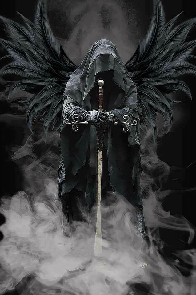 Témoignage Vidéo de L'Archange Azraël « l'Ange de la Mort ».  ( La faucheuse ! ) D9a43462acdab27e73e75cd5faf38b65
