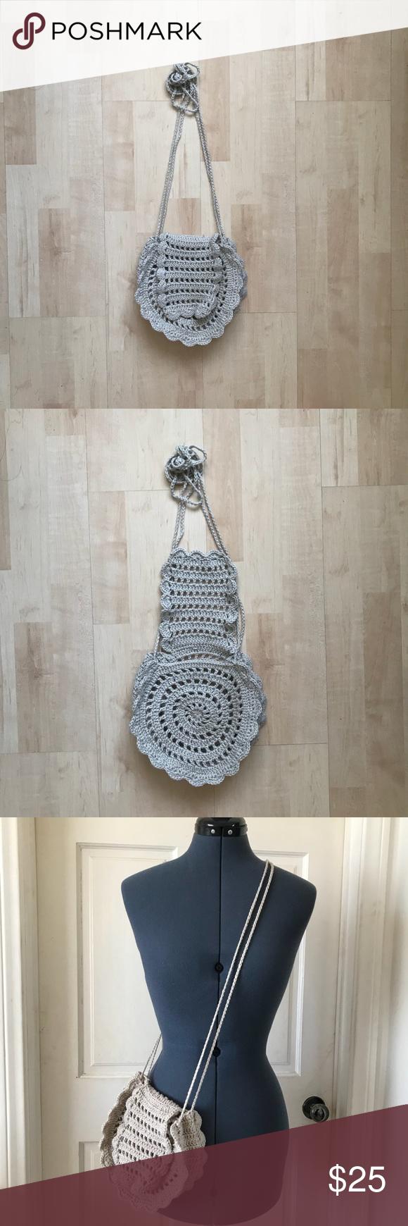 Crochet bag Crochet bag 100 acrylic No lining