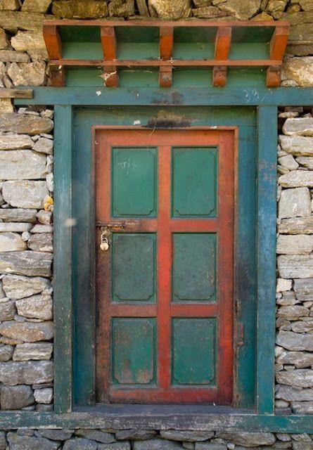Behind Locked Doors Green Door Beautiful Doors Old Doors