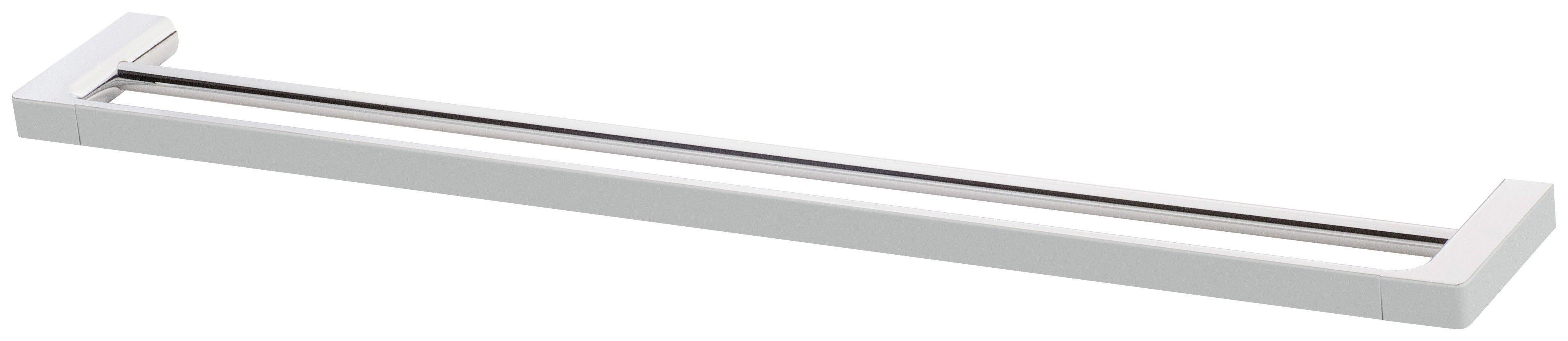 Gloss Double Towel Rail 800mm