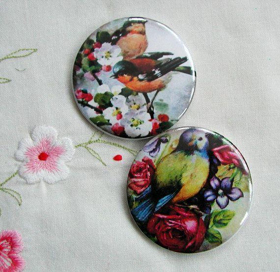 Vintage Ladies and girl photo fridge magnets set by VerasTreasures, £5.00