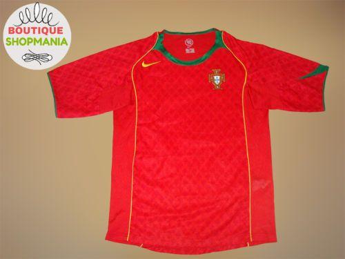 9f88bab835d ... new zealand long sleeve portugal international home 2004 2006 s  football shirt 01975 41f0f