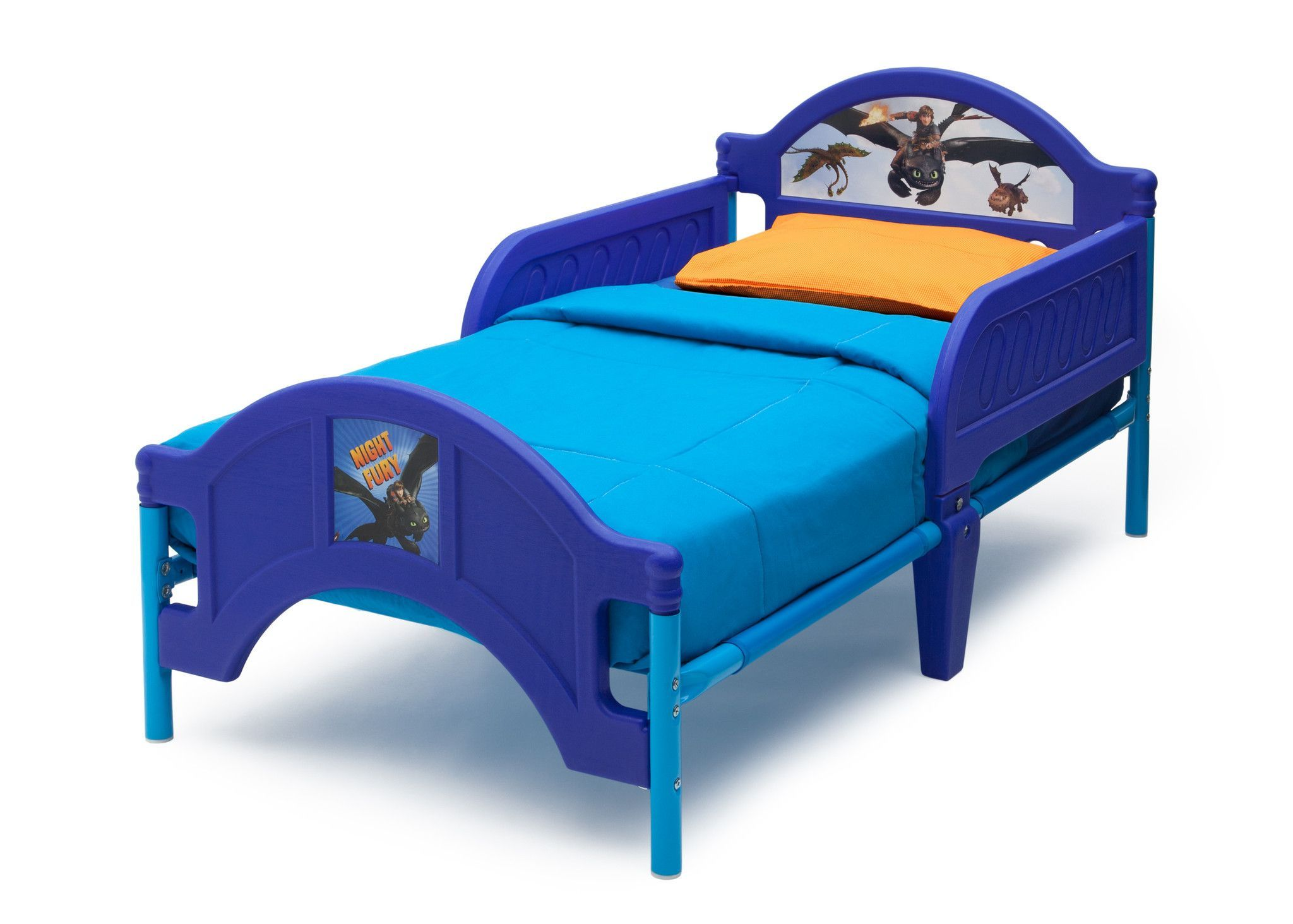 How To Train Your Dragon Plastic Toddler Bed Toddler Bed Frame
