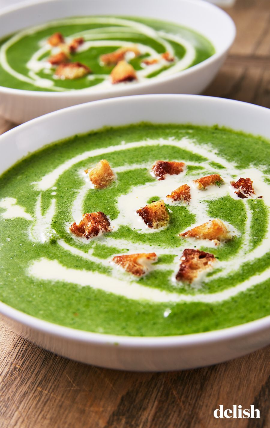 Creamy Spinach Soup #spinachsoup