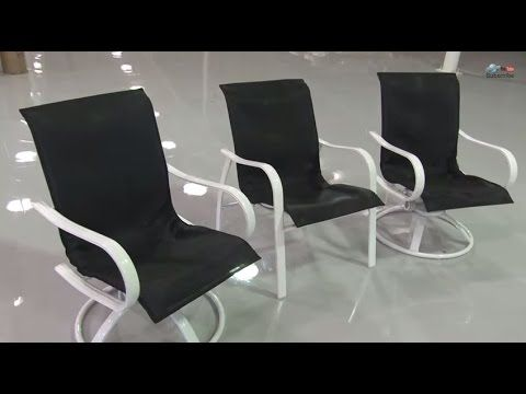 sling replacement for patio chairs kartell ghost chair knock off diy furniture video backyard