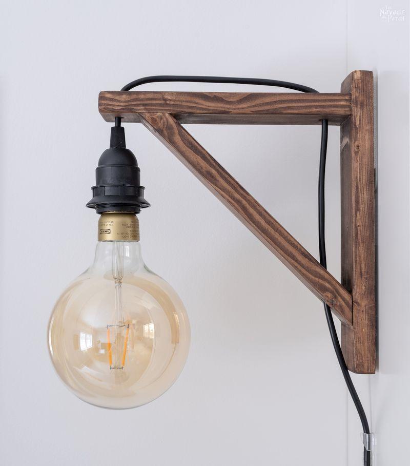 Diy Corbel Sconces Bedroom Lighting Diy Sconces Lamp Decor