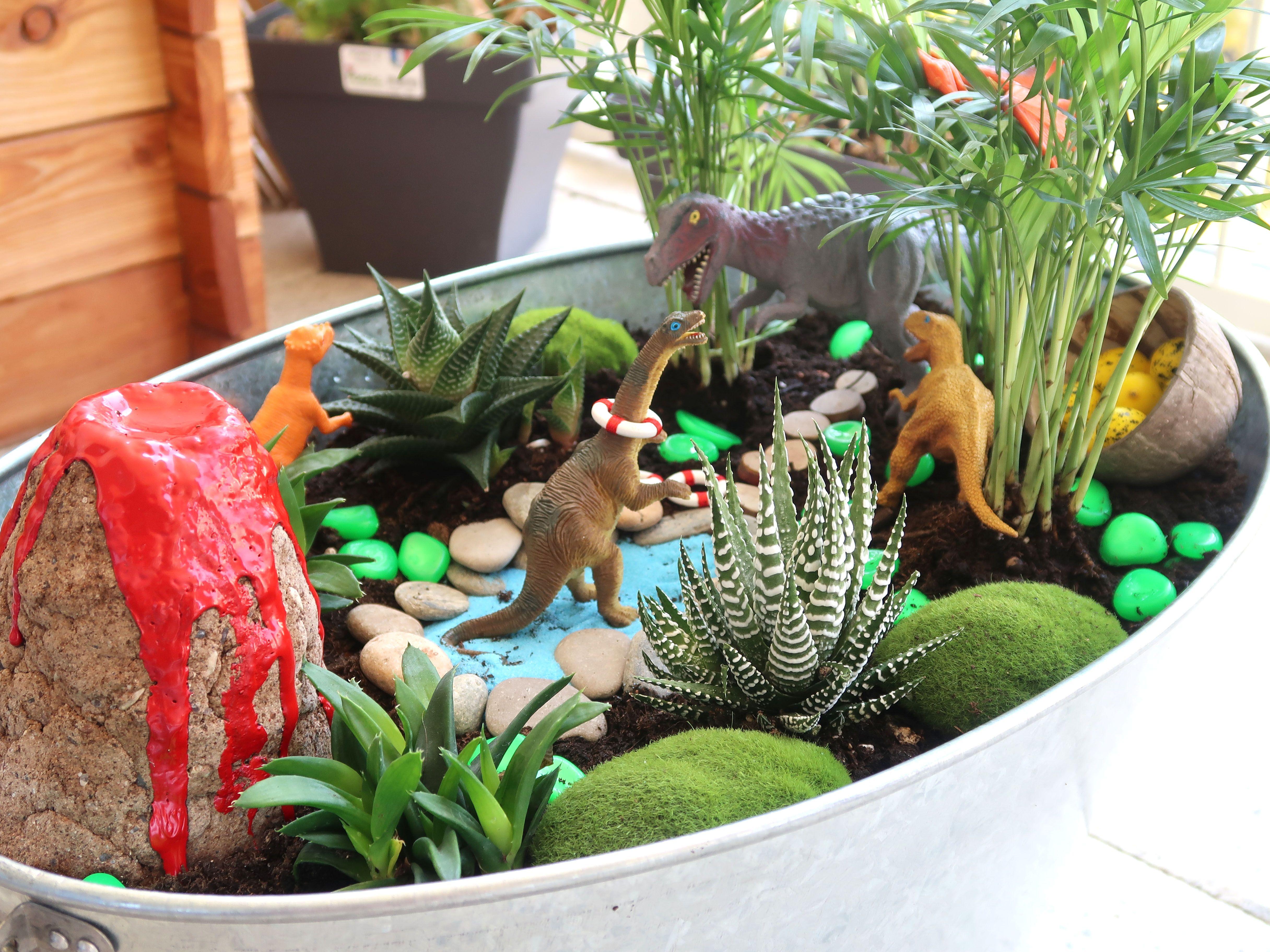 Comment Creer Un Jardin Miniature Fairy Garden Avec Les Kids
