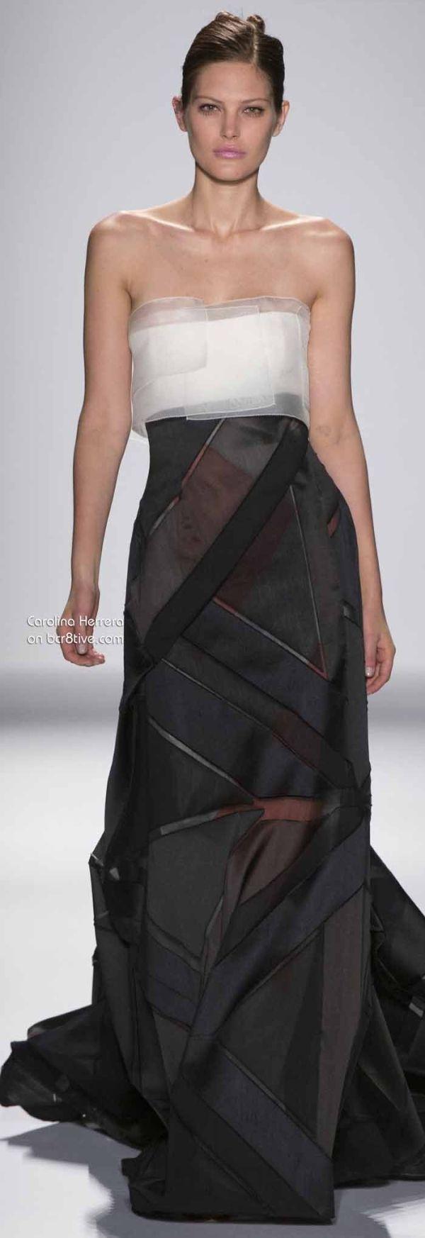 Carolina Herrera, 2014 - Dress - Haute Couture / Vestido #Noche #AltaCostura
