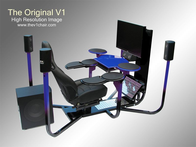 Furniture, High End Design Of Ultimate Gaming Desk Well Designed Computer  Gaming Desk: Sturdy And Well-Designed Ultimate Gaming Desk