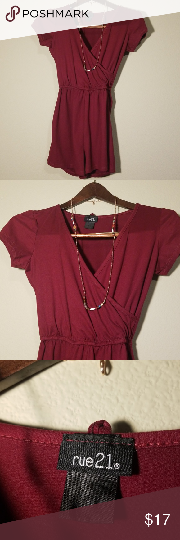 286eea587945 Size extra small. It s in great condition other than the tags having faded.  The necklace is not included. Rue21 Pants Jumpsuits   Rompers