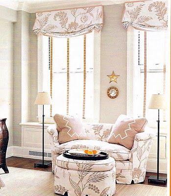 Faux roman shade - Window Treatments Pinterest - deko ideen vorhange wohnzimmer