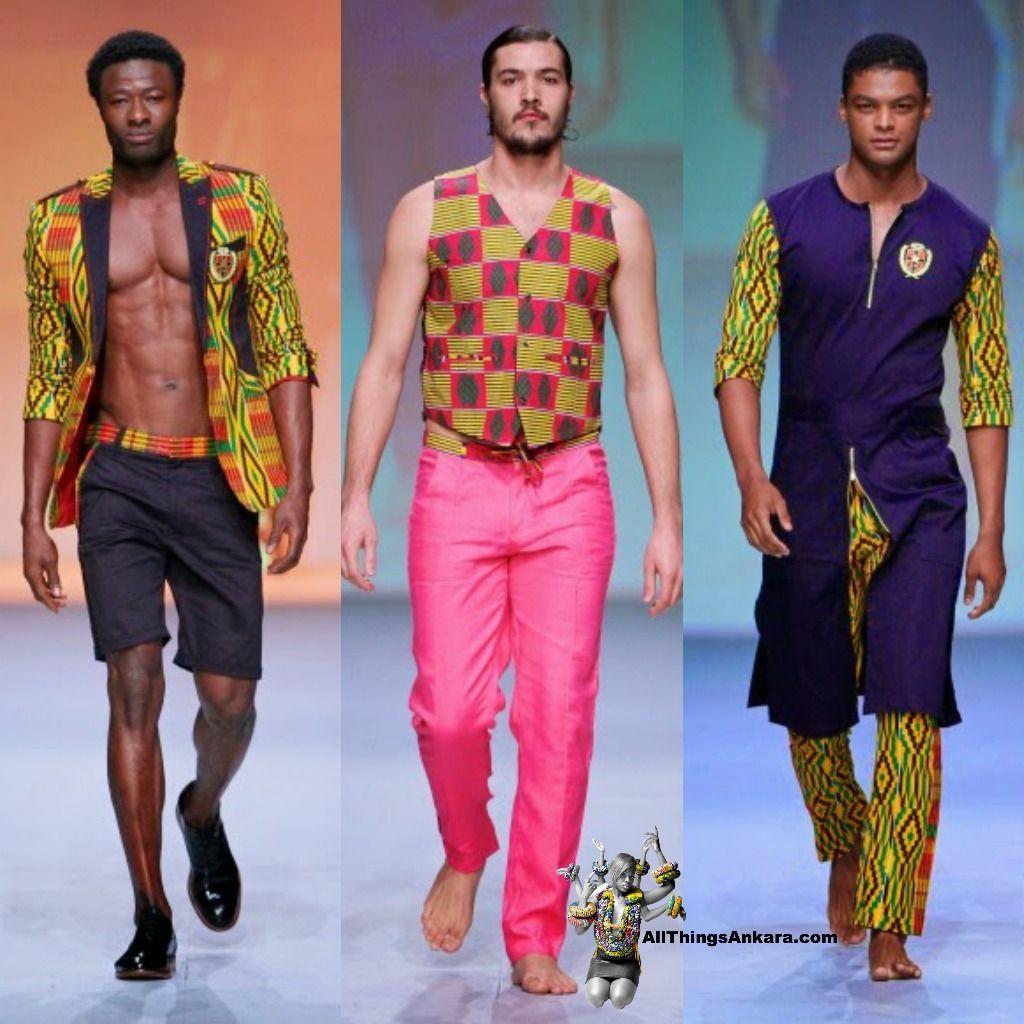 All Things Ankara Menswear Abrantie The Gentleman At Durban Fashion African Fashion Ankara