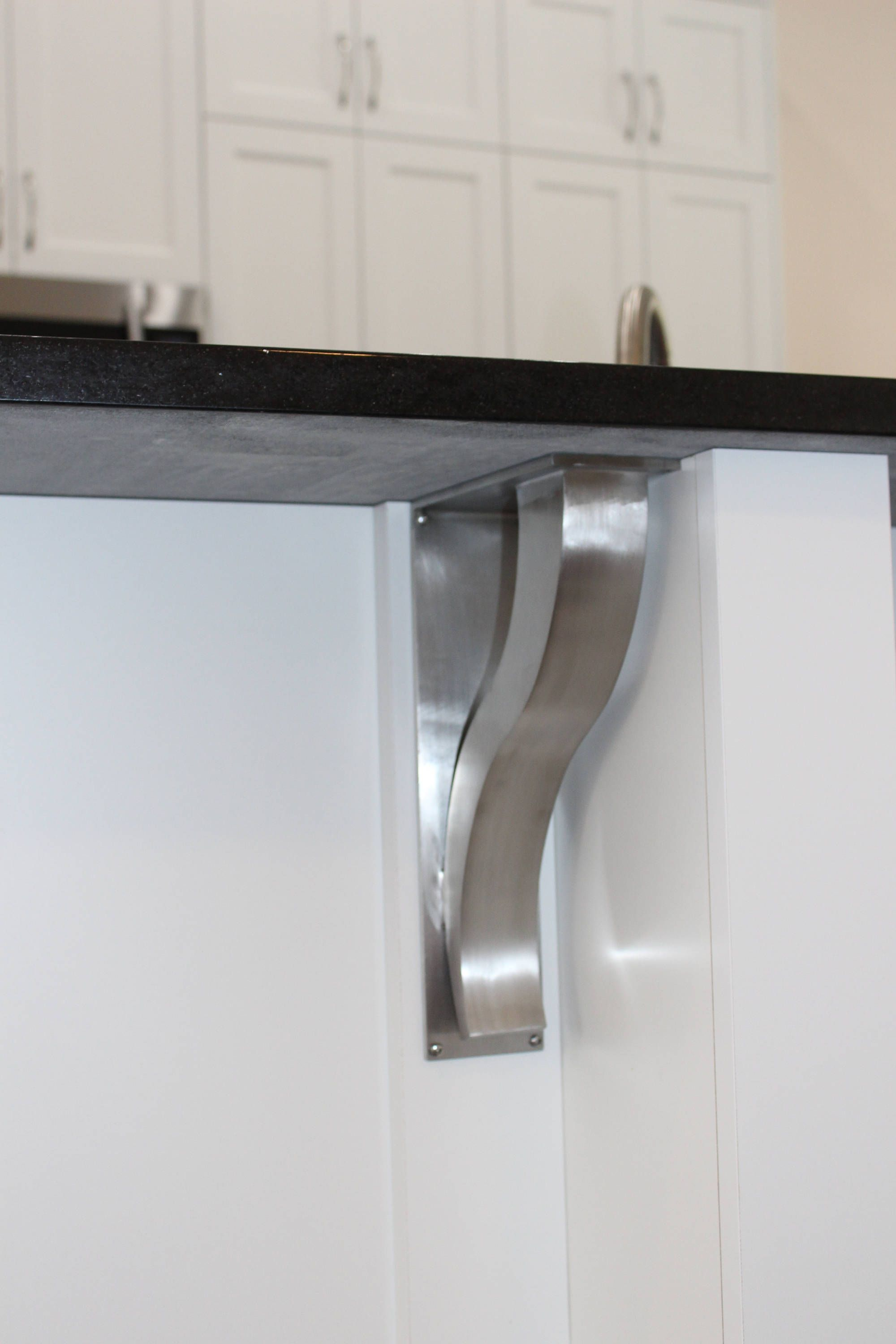 Large Stainless Steel Countertop Support Brackets Architectural