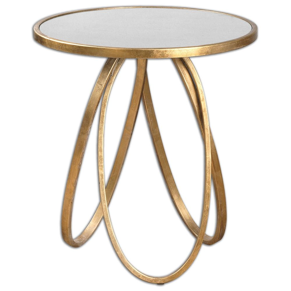 Uttermost Montrez Gold Accent Table Gold Accent Table Accent Table