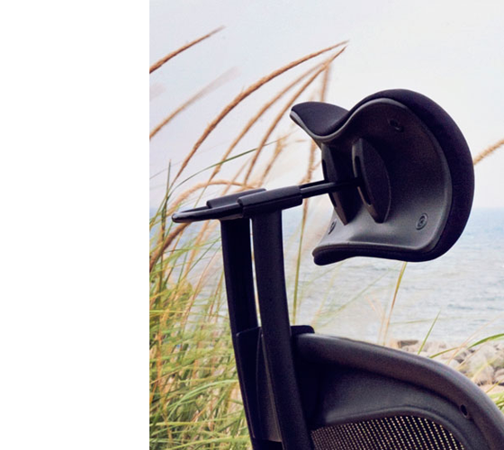 Headrest For Herman Miller Aeron Chair H4 Full By Engineered Now 디자인