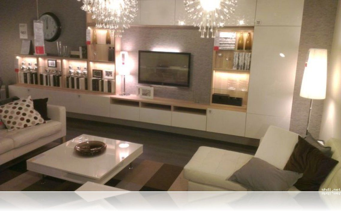 Beautiful white color wall wood modern design furniture interior
