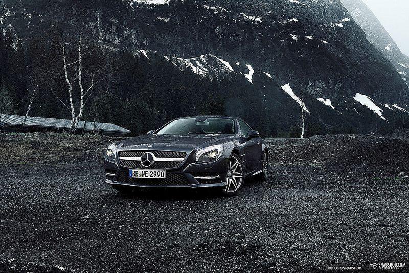 SL - Mercedes-Benz Alpen Shootout 2014